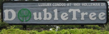 DoubleTree Sign